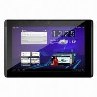 China 10.1-inch Android 4.0 Tablet PCs, CPU NVIDIA Tegra2 A9 Dual Core 1GHz, 1GB, 8/16/32GB Flash on sale