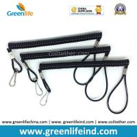China Plastic Safety Loop Ends Extendable Spiral Coil-Style Key Chains on sale