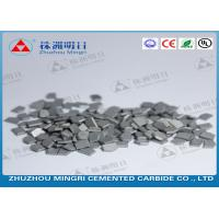 China Mining And Oil Field Drill Tips Made Of Cemented Carbide Strong Bending Strength wholesale