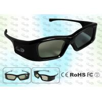 China Rechargeable 3D PC home use active shutter 3D glasses wholesale