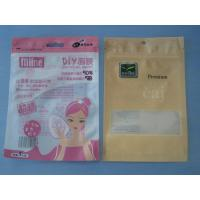 China OPP / CPP PE / PET Comestic Packaging Bag Bpa Free With Zip Lock wholesale