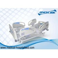 China Adjustable Electric Hospital Bed With Optional colour ABS Handrails wholesale