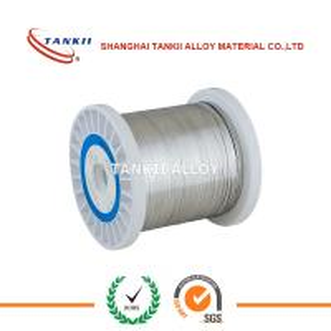 Quality 0.6x0.2mm 0.5X0.1mm Bright Nichrome Ribbon Ni80cr20 NiCr 80/20 NiCr60 /15 NiCr70/30 Flat Wire for sale