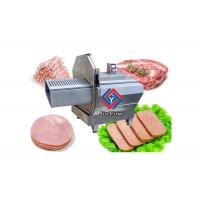 China Durable Industrial Meat Slicer For Restuarant Daging Asap Slicing 200pcs / Min on sale