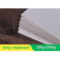 China 800gsm 1.2 mm Grey Board Paper Bulk Chipboard Sheets For Jewelry Box wholesale