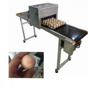 China 52 KG Flexible Digital Industrial Inkjet Printing Machines For Food Package Eggs wholesale