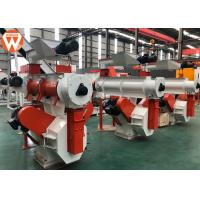Quality Cattle Poultry Feed Making Machine Customized Voltage 300rpm Ring Die Speed for sale