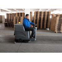 China Dycon No Light Commercial Compact Floor Scrubber Machine For Trade Company wholesale