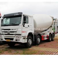 China 12 Wheels 8×4 Concrete Mixer Truck One Bed Weatherproof For Construction wholesale