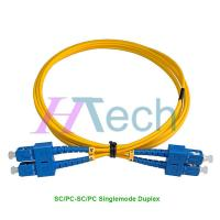 China Optical Fiber Patch Cord SC/UPC-SC/UPC Singlemode Duplex on sale