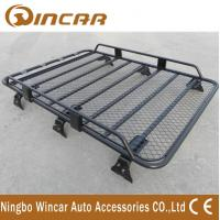 China Removable Half Frame Luggage Rack For Suv , Roof Rack Carrier Gutter Mount wholesale