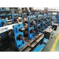 China Wire-electrode Cutting Top Hat Roll Forming Machine Cr12 Cutter 4kw wholesale