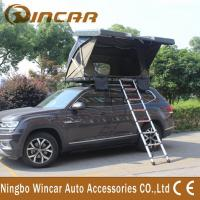 China Outside Auto Hard Shell Pop Up Roof Top Tent / Roof Mounted Suv Pop Up Tent wholesale