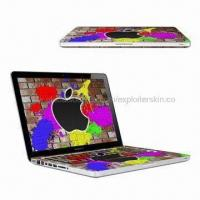 China Laptop Skin/Sticker for MAc Book Pro, Made of Vinyl on sale