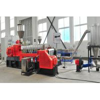 Buy cheap HFFR line granulator Banbury 65 150 two-stage 300 kg/h extruder Kneader from wholesalers