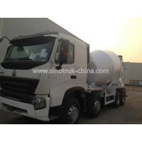 China Sinotruk Howo A7 8×4 Concrete Agitator Truck With 371hp Engine And One Bed wholesale