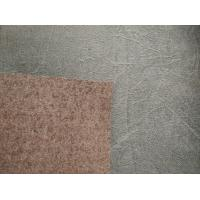 """China 54"""" Width Embossed Suede Leather Fabric , Synthetic Suede Fabric wholesale"""