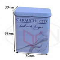 China Cigarette case, cigarette tin box, tin box packing, tin pack function can co., td wholesale