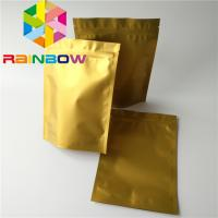 Quality Poly Ziplock Mylar Plastic Pouches Packaging Aluminum Foil Stand Up Zipper Bag for sale