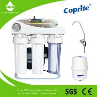 China 5 Stages Stand Osmosis Reverse Water Filter System With Oil Pressure Meter wholesale