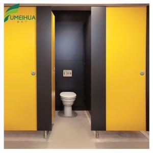 China Public Bathroom Waterproof Phenolic Toilet Partitions wholesale