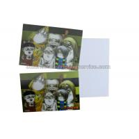China Loverly Cartoon Kids 3D Lenticular Postcard 11x16cm 3d Changing Pictures wholesale