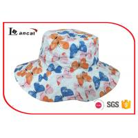 China Reversible outdoor custom sun hat with wide brim and sheeting lining wholesale