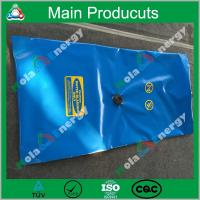 China Square type eco-friendly flexible durable movable strong plastic camping water bladder wholesale