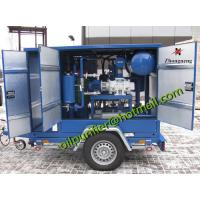 China Insulation Oil Purification Plant, Mobile Transformer Oil Filtration Machine for outside field transformer service wholesale