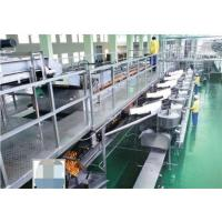 Buy cheap Automatic Flavor Skimmed Yogurt Processing Line , Milk Processing Plant 5000LPH from wholesalers