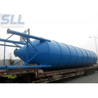 China 100 Ton Cement Storage Silo / Bulk Cement Storage System Easy Transport Assemble wholesale