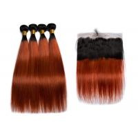 China QueenLife Straight Human Hair Weave Weft 1B /350 Ombre Color Beauty Ombre Hair wholesale