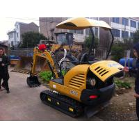 strong power excavator brand XCMG mini excavator 1.5 tons digger new excavtor price