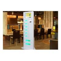 China Restaurant Hotel Emergency Cell Phone Charging Station High Precision with Password Barcode Fingerprint Scanner wholesale