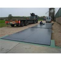 Quality 10t - 200t SCS Heavy Duty Truck Weight Scales With 2 Platforms , Continuous Welding for sale