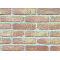 5D20-8 Handmade Clay Thin Veneer Brick For House Building Faux Brick Wall