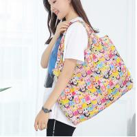 China Customized Waterproof Foldable Reusable Shopping Bags Portable Polyester on sale