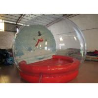 China Outdoor Inflatable Christmas Decorations Crystal Ball Airtight Dia3m Pvc Tarpaulin wholesale