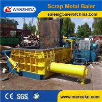 China Turn out China Scrap Metal Baler to press iron and brass with high quality from chinese wanshida on sale