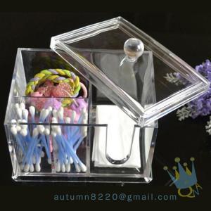 China acrylic makeup storage organizer with drawers wholesale