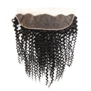 China Kinky Curly Brazilian Body Wave Lace Closure Unprocessed Human Hair wholesale