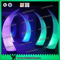 China Event Party Entrance Decoration Inflatable Tusk Pillar Lighting Inflatable Column wholesale