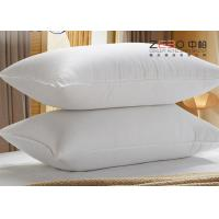 China 1100g White Color Hotel Comfort Pillows With Excellent Water Absorption wholesale