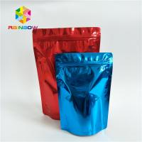 China Food Grade Custom Printed Stand Up Pouches Printed Smell Proof Aluminum Foil Ziplock wholesale