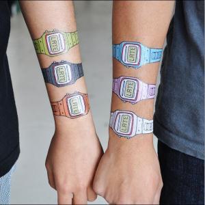 China Lovely Cartoon Design Temporary Body Tattoo Stickers on sale