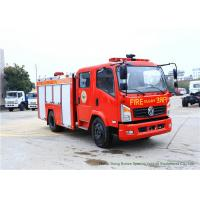 China Emergency Fire Fighting Truck With Cummins EQB125 Diesel Engine 4000Liters Water wholesale