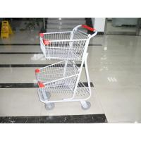 Quality Grocery Folding Shopping Trolley , collapsible shopping trolley for sale