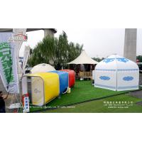 China High Peak Tent  For  Outdoor Party Tent With Blue Color Fabric For Outdoor Glamping on sale
