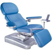 China Medical Blood Donor Chair / Bed , Blue Multifunction Hospital Delivery Bed wholesale