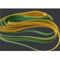 China MK9 Tobacco Machinery Spare Parts Flat Power Transmission Belts Green Yellow wholesale